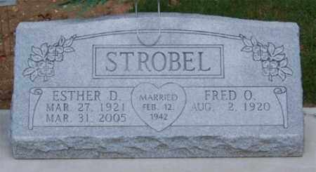 BLUMHARDT STROBEL, ESTHER D. - Marion County, Arkansas | ESTHER D. BLUMHARDT STROBEL - Arkansas Gravestone Photos