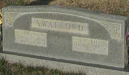 SWAFFORD, EARNEST FRANKLIN - Marion County, Arkansas | EARNEST FRANKLIN SWAFFORD - Arkansas Gravestone Photos