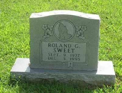 SWEET, ROLAND G. - Marion County, Arkansas | ROLAND G. SWEET - Arkansas Gravestone Photos