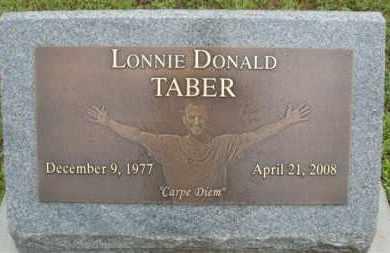 TABER, LONNIE DONALD - Marion County, Arkansas | LONNIE DONALD TABER - Arkansas Gravestone Photos