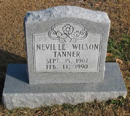 TANNER, NEVILLE WILSON - Marion County, Arkansas   NEVILLE WILSON TANNER - Arkansas Gravestone Photos