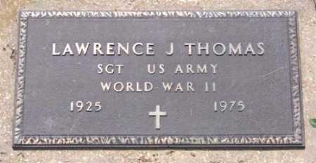 THOMAS (VETERAN WWII), LAWRENCE J - Marion County, Arkansas | LAWRENCE J THOMAS (VETERAN WWII) - Arkansas Gravestone Photos