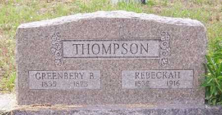 THOMPSON, REBECKAH - Marion County, Arkansas | REBECKAH THOMPSON - Arkansas Gravestone Photos