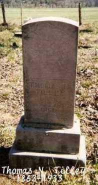 TILLEY, THOMAS N. - Marion County, Arkansas | THOMAS N. TILLEY - Arkansas Gravestone Photos