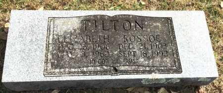 TILTON, ROSCOE - Marion County, Arkansas   ROSCOE TILTON - Arkansas Gravestone Photos