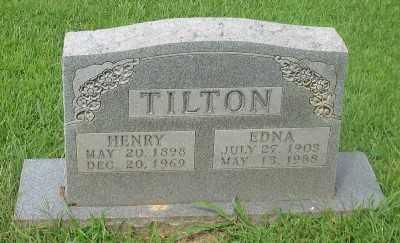 TILTON, EDNA - Marion County, Arkansas   EDNA TILTON - Arkansas Gravestone Photos