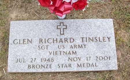 TINSLEY (VETERAN VIET), GLEN RICHARD - Marion County, Arkansas   GLEN RICHARD TINSLEY (VETERAN VIET) - Arkansas Gravestone Photos