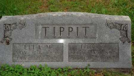 TIPPIT, EARL T. - Marion County, Arkansas | EARL T. TIPPIT - Arkansas Gravestone Photos