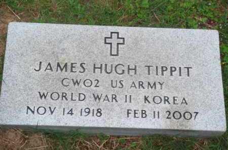 TIPPIT (VETERAN 2 WARS), JAMES HUGH - Marion County, Arkansas | JAMES HUGH TIPPIT (VETERAN 2 WARS) - Arkansas Gravestone Photos