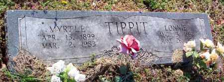 TRIMBLE TIPPIT, MYRTLE - Marion County, Arkansas | MYRTLE TRIMBLE TIPPIT - Arkansas Gravestone Photos