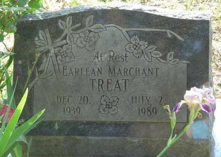 MARCHANT TREAT, EARLEAN - Marion County, Arkansas | EARLEAN MARCHANT TREAT - Arkansas Gravestone Photos