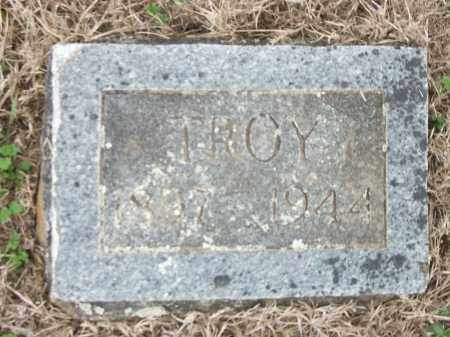 CAMPBELL, TROY (FOOTSTONE) - Marion County, Arkansas | TROY (FOOTSTONE) CAMPBELL - Arkansas Gravestone Photos