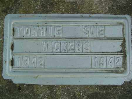 VICKERS, TOMMIE SUE - Marion County, Arkansas | TOMMIE SUE VICKERS - Arkansas Gravestone Photos