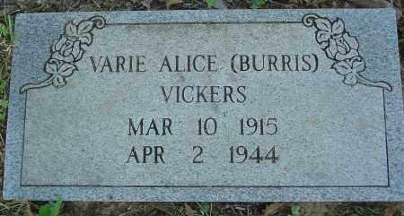 VICKERS, VARIE ALICE - Marion County, Arkansas | VARIE ALICE VICKERS - Arkansas Gravestone Photos