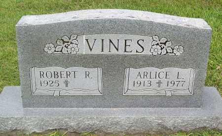 VINES, ARLICE L. - Marion County, Arkansas   ARLICE L. VINES - Arkansas Gravestone Photos