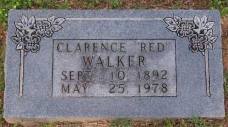 """WALKER, CLARENCE """"RED"""" - Marion County, Arkansas 