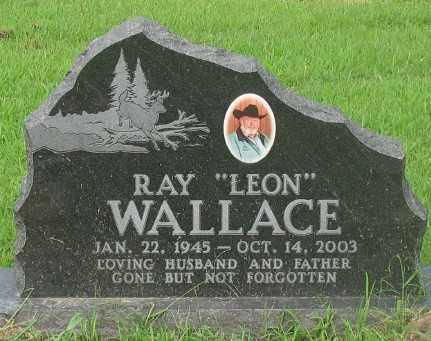 WALLACE, RAY LEON - Marion County, Arkansas   RAY LEON WALLACE - Arkansas Gravestone Photos