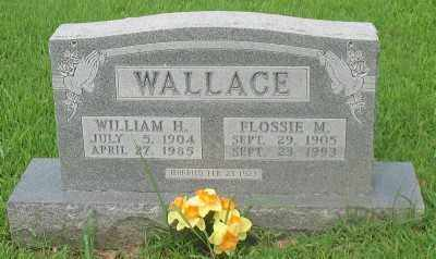 WALLACE, FLOSSIE M. - Marion County, Arkansas | FLOSSIE M. WALLACE - Arkansas Gravestone Photos