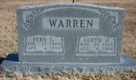 BLASDEL WARREN, FERN L. - Marion County, Arkansas | FERN L. BLASDEL WARREN - Arkansas Gravestone Photos