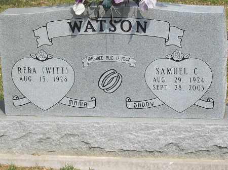 WATSON, SAMUEL C. - Marion County, Arkansas | SAMUEL C. WATSON - Arkansas Gravestone Photos