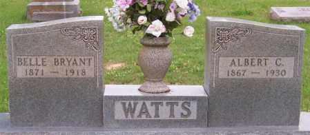 BRYANT WATTS, BELLE - Marion County, Arkansas | BELLE BRYANT WATTS - Arkansas Gravestone Photos