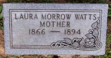 MORROW WATTS, LAURA - Marion County, Arkansas | LAURA MORROW WATTS - Arkansas Gravestone Photos