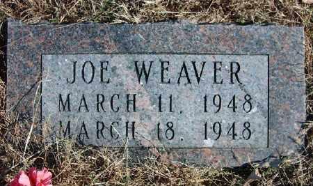 WEAVER, JOE - Marion County, Arkansas | JOE WEAVER - Arkansas Gravestone Photos