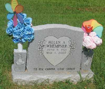 WHEMPNER, HELEN A. - Marion County, Arkansas | HELEN A. WHEMPNER - Arkansas Gravestone Photos