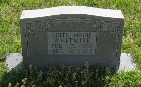 LAWHON WHITMIRE, EDITH MARIE - Marion County, Arkansas | EDITH MARIE LAWHON WHITMIRE - Arkansas Gravestone Photos