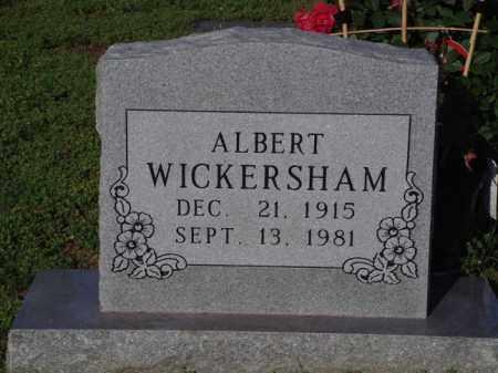 WICKERSHAM, ALBERT - Marion County, Arkansas | ALBERT WICKERSHAM - Arkansas Gravestone Photos