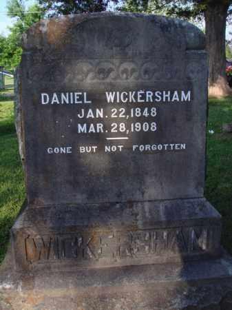 WICKERSHAM, DANIEL - Marion County, Arkansas | DANIEL WICKERSHAM - Arkansas Gravestone Photos