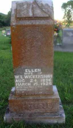 WICKERSHAM, ELLEN - Marion County, Arkansas   ELLEN WICKERSHAM - Arkansas Gravestone Photos
