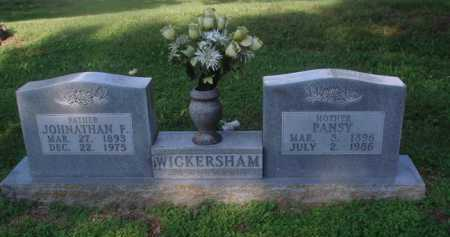 WICKERSHAM, JONATHAN F. - Marion County, Arkansas | JONATHAN F. WICKERSHAM - Arkansas Gravestone Photos
