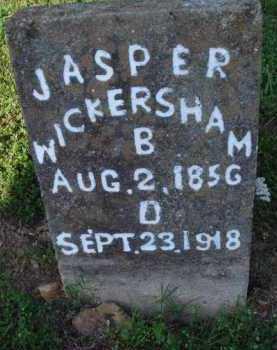 WICKERSHAM, JASPER - Marion County, Arkansas | JASPER WICKERSHAM - Arkansas Gravestone Photos