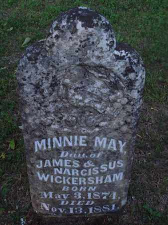 WICKERSHAM, MINNIE MAY - Marion County, Arkansas | MINNIE MAY WICKERSHAM - Arkansas Gravestone Photos