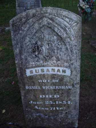 WICKERSHAM, SUSANAH - Marion County, Arkansas | SUSANAH WICKERSHAM - Arkansas Gravestone Photos