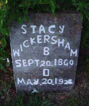 WICKERSHAM, STACY - Marion County, Arkansas   STACY WICKERSHAM - Arkansas Gravestone Photos