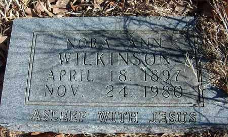 RIDDLE WILKINSON, NORA ANN - Marion County, Arkansas | NORA ANN RIDDLE WILKINSON - Arkansas Gravestone Photos