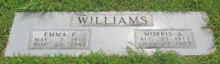 WILLIAMS, EMMA F. - Marion County, Arkansas | EMMA F. WILLIAMS - Arkansas Gravestone Photos