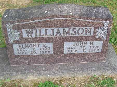 WILLIAMSON, JOHN H. - Marion County, Arkansas | JOHN H. WILLIAMSON - Arkansas Gravestone Photos