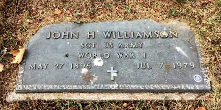 WILLIAMSON (VETERAN WWI), JOHN H - Marion County, Arkansas | JOHN H WILLIAMSON (VETERAN WWI) - Arkansas Gravestone Photos
