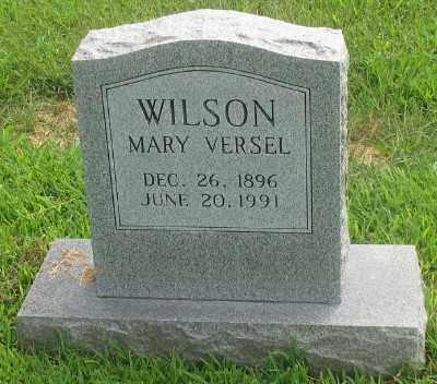 WILSON, MARY VERSEL - Marion County, Arkansas | MARY VERSEL WILSON - Arkansas Gravestone Photos