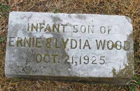 WOOD, INFANT SON - Marion County, Arkansas | INFANT SON WOOD - Arkansas Gravestone Photos