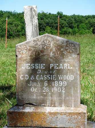 WOOD, JESSIE PEARL - Marion County, Arkansas | JESSIE PEARL WOOD - Arkansas Gravestone Photos