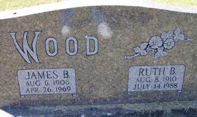 WOOD, RUTH B. - Marion County, Arkansas | RUTH B. WOOD - Arkansas Gravestone Photos
