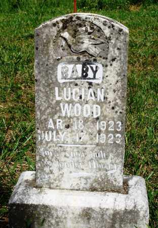 WOOD, LUCIAN - Marion County, Arkansas | LUCIAN WOOD - Arkansas Gravestone Photos