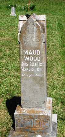 WOOD, MAUD - Marion County, Arkansas | MAUD WOOD - Arkansas Gravestone Photos