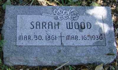 WOOD, SARAH ANN - Marion County, Arkansas   SARAH ANN WOOD - Arkansas Gravestone Photos