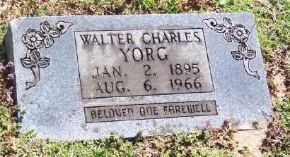 YORG, WALTER CHARLES - Marion County, Arkansas   WALTER CHARLES YORG - Arkansas Gravestone Photos