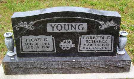 YOUNG, FLOYD C. - Marion County, Arkansas | FLOYD C. YOUNG - Arkansas Gravestone Photos